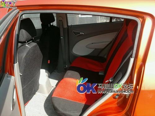 雪佛兰新赛欧两厢橙色1.4手动优逸版2012年1月上牌高清图片