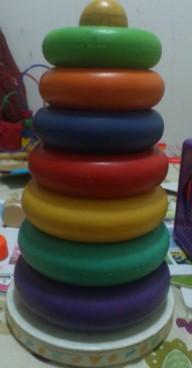 玩具转让 七彩虹套圈圈 母婴用品