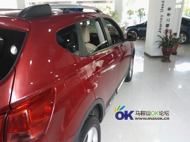精品SUV 日产逍客2.0cvt雷 天窗 二手车市场高清图片