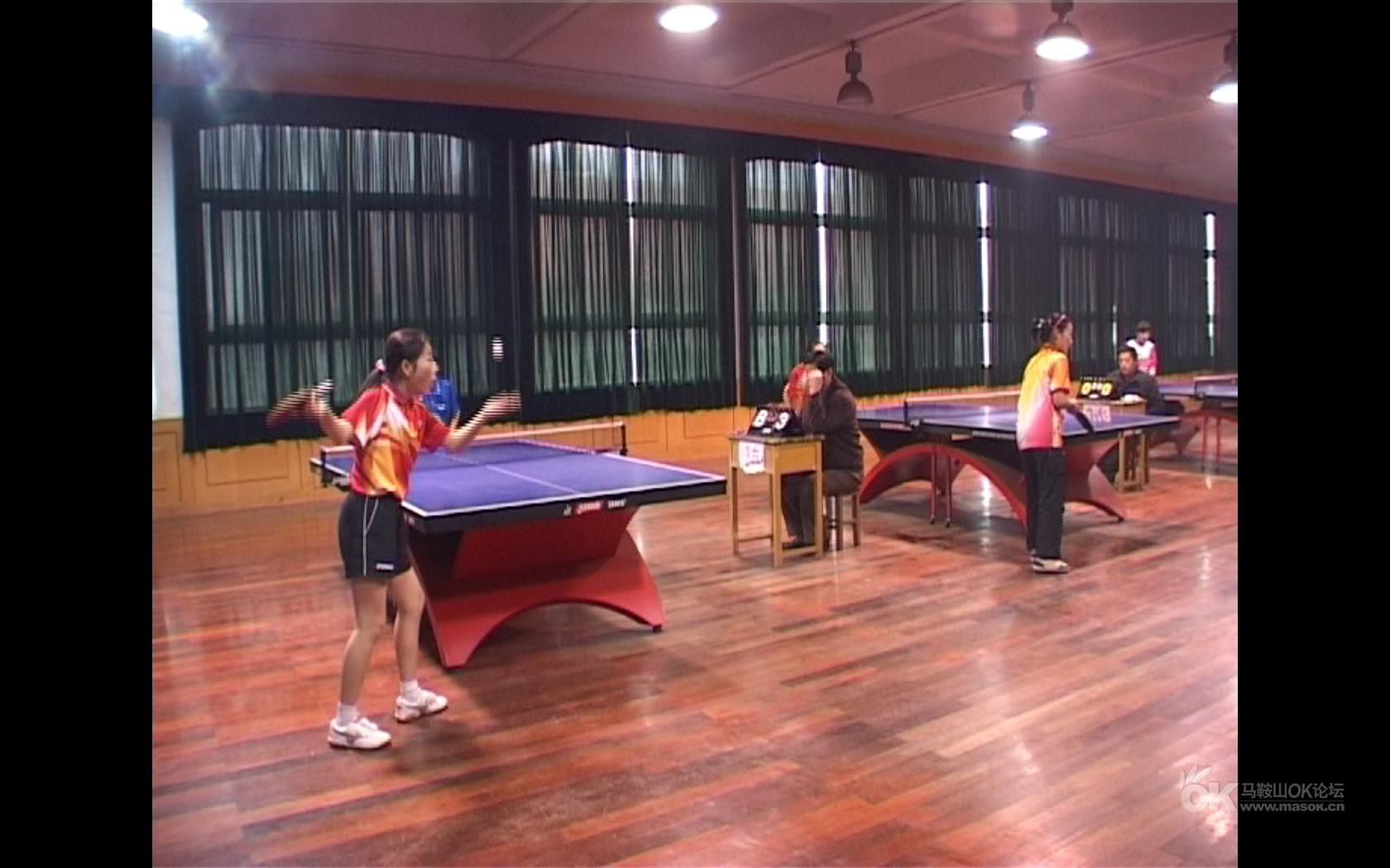 2010年马鞍山市中小学乒乓球比赛即时报道-棒球帽蓝色图片